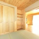 珪藻土塗りの洋風和室
