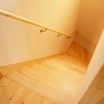 パイン集成材の階段