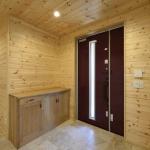 くるみの木の玄関収納