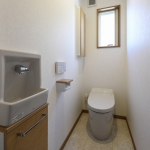 手洗い付のトイレ